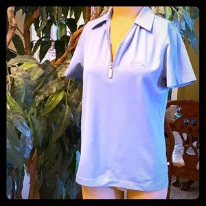 Blue Callaway women's golf shirt